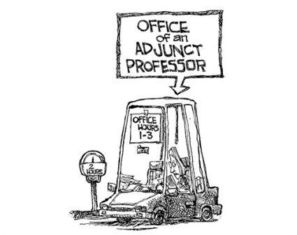 Adjuncts advance