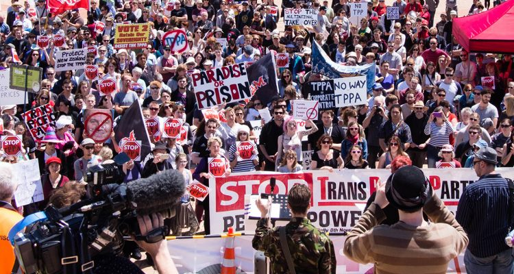 A plucky (and smart!) grassroots coalition has pushed the dastardly Trans-Pacific Partnership to the edge