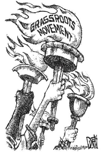 Cartoon by Brian Duffy