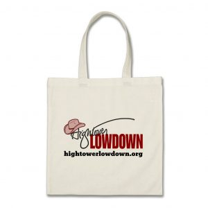 Hightower Lowdown logo_tote