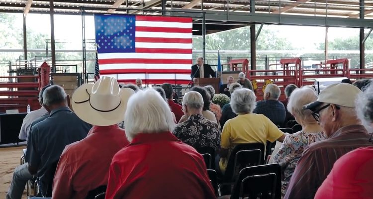 Choctaw Electric's annual meeting in 2015. Photo courtesy of Stan Hammons